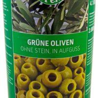 LP-Grüne-Oliven-ohne-Stein,-in-Aufguss-4250g